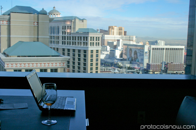 Aria CityCenter complex Las Vegas resort casino hotel Vdara room review