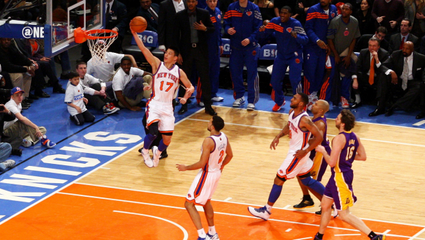 Jeremy Lin Linsanity New York Knicks NBA basketball Harvard University