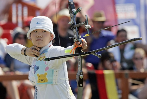 Park Sung Hyun South Korea archery Olympics