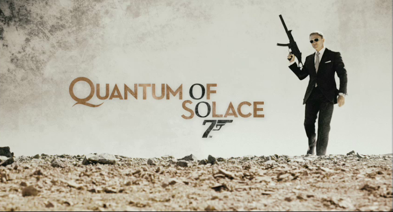 Quantum of Solace James Bond
