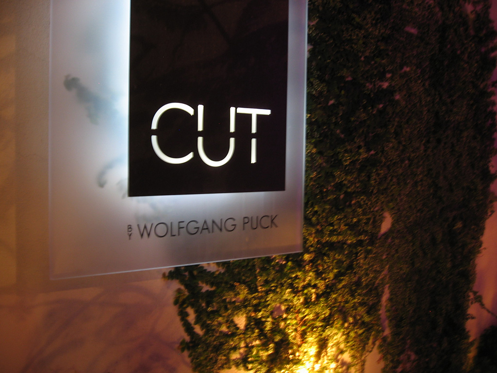CUT Beverly Hills Los Angeles steakhouse Wolfgang Puck Japanese Wagyu steak